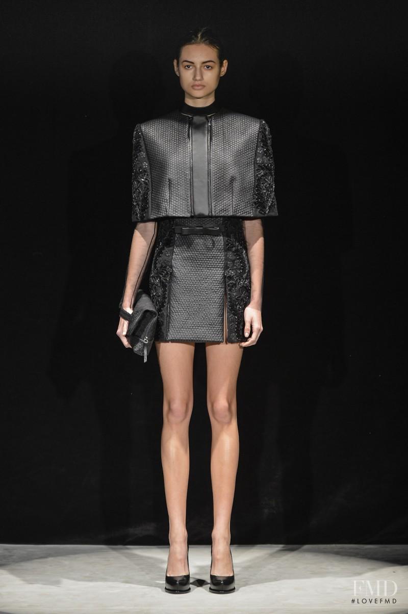 Bruna Ludtke featured in  the Reinaldo Louren�o fashion show for Autumn/Winter 2013