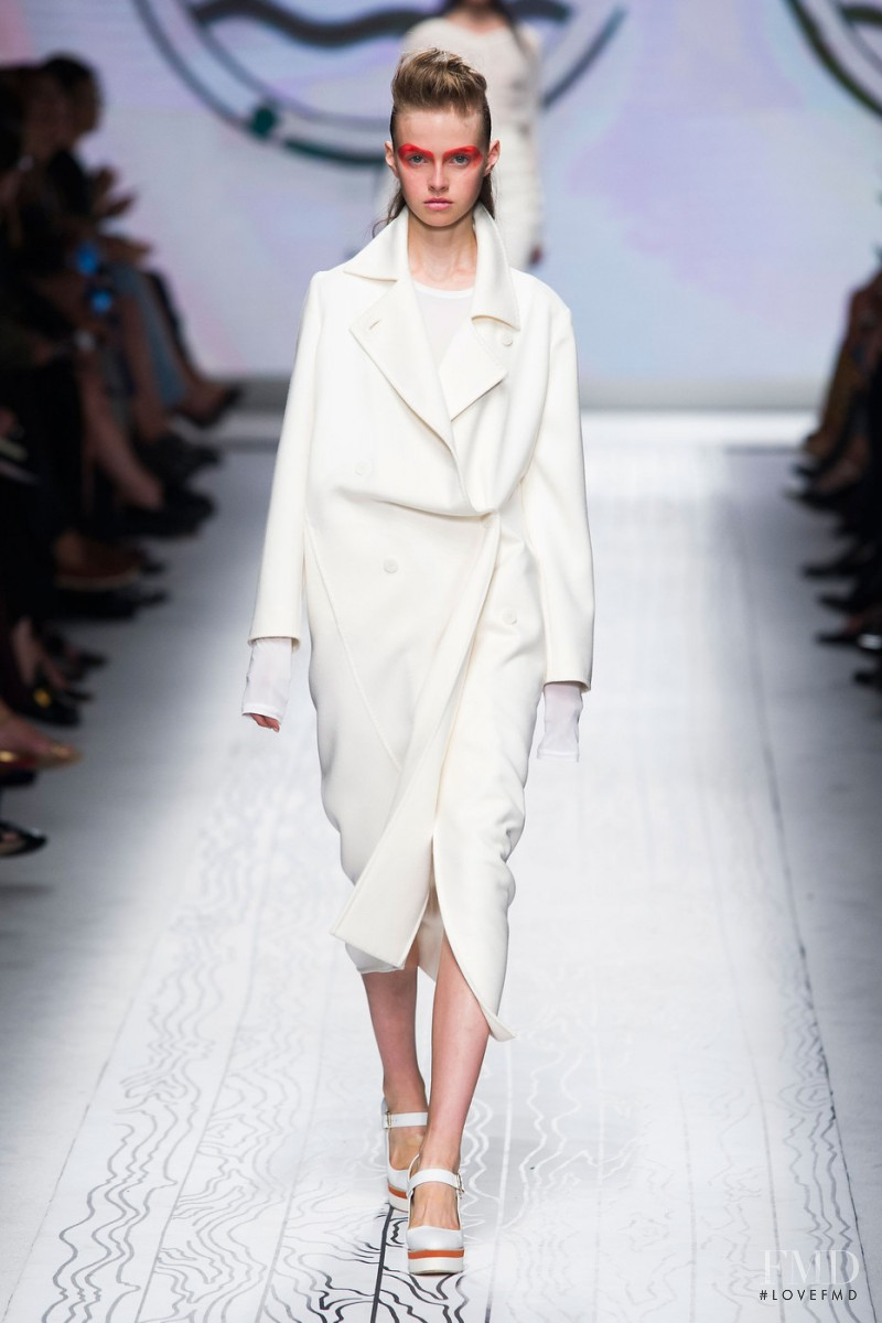 Avery Blanchard featured in  the Max Mara fashion show for Spring/Summer 2016