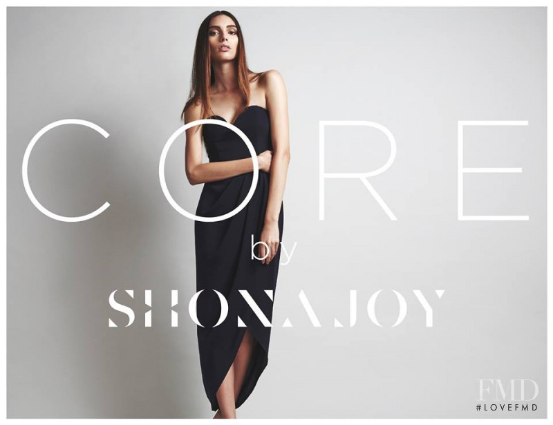 Charlee Fraser featured in  the Shona Joy advertisement for Autumn/Winter 2014