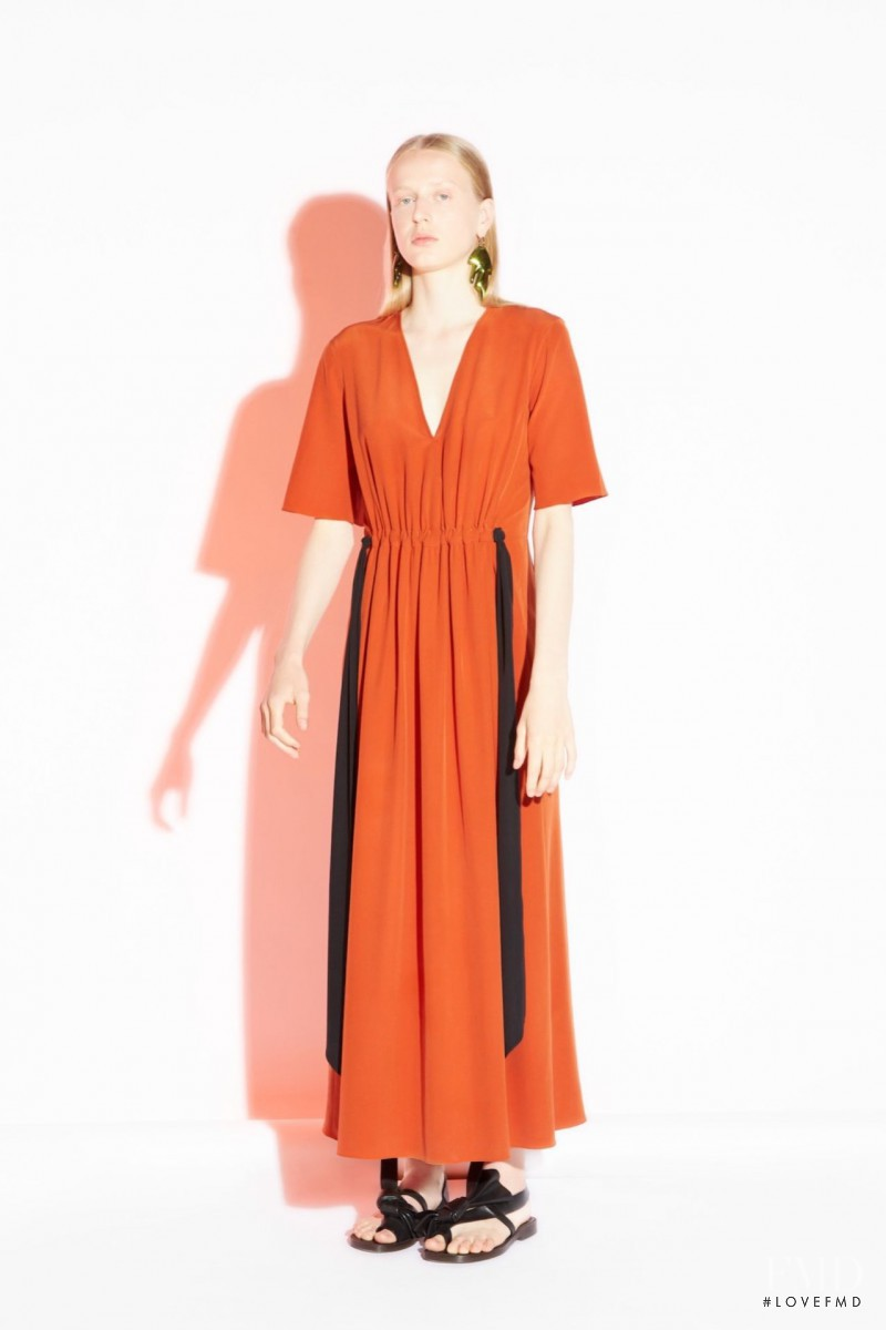 Anine Van Velzen featured in  the Cedric Charlier fashion show for Resort 2016