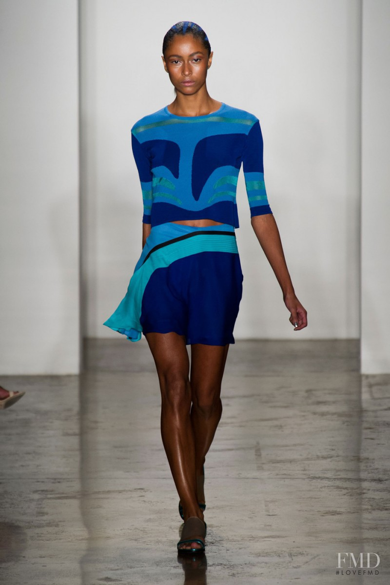 Catherine Decome featured in  the Ohne Titel fashion show for Spring/Summer 2014
