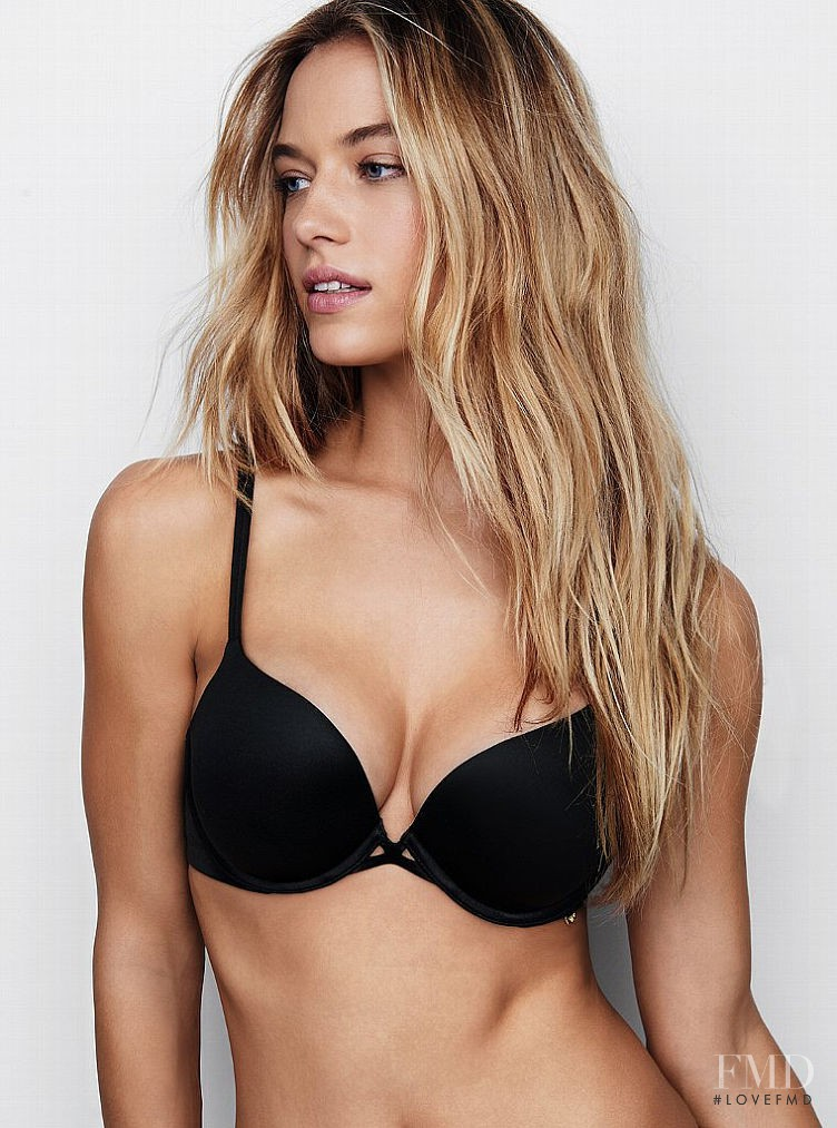 Hannah Ferguson featured in  the Victoria\'s Secret catalogue for Autumn/Winter 2015