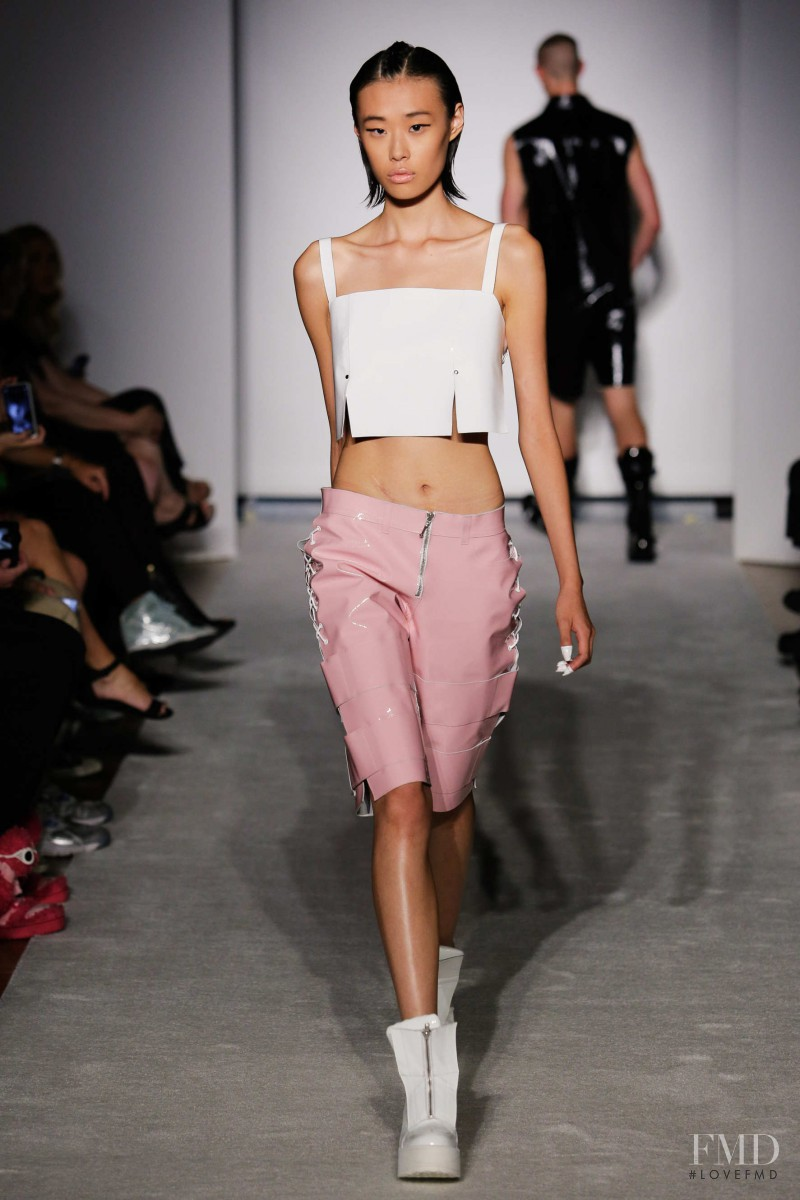 Meng Meng Wei featured in  the Maria Ke Fisherman fashion show for Spring/Summer 2015
