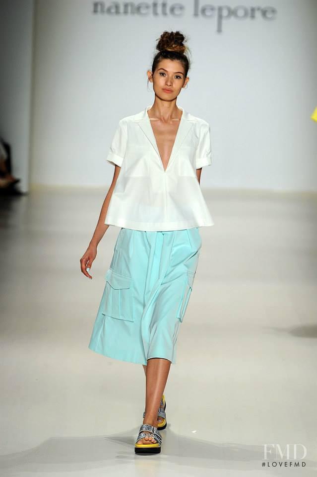 Nanette Lepore fashion show for Spring/Summer 2015