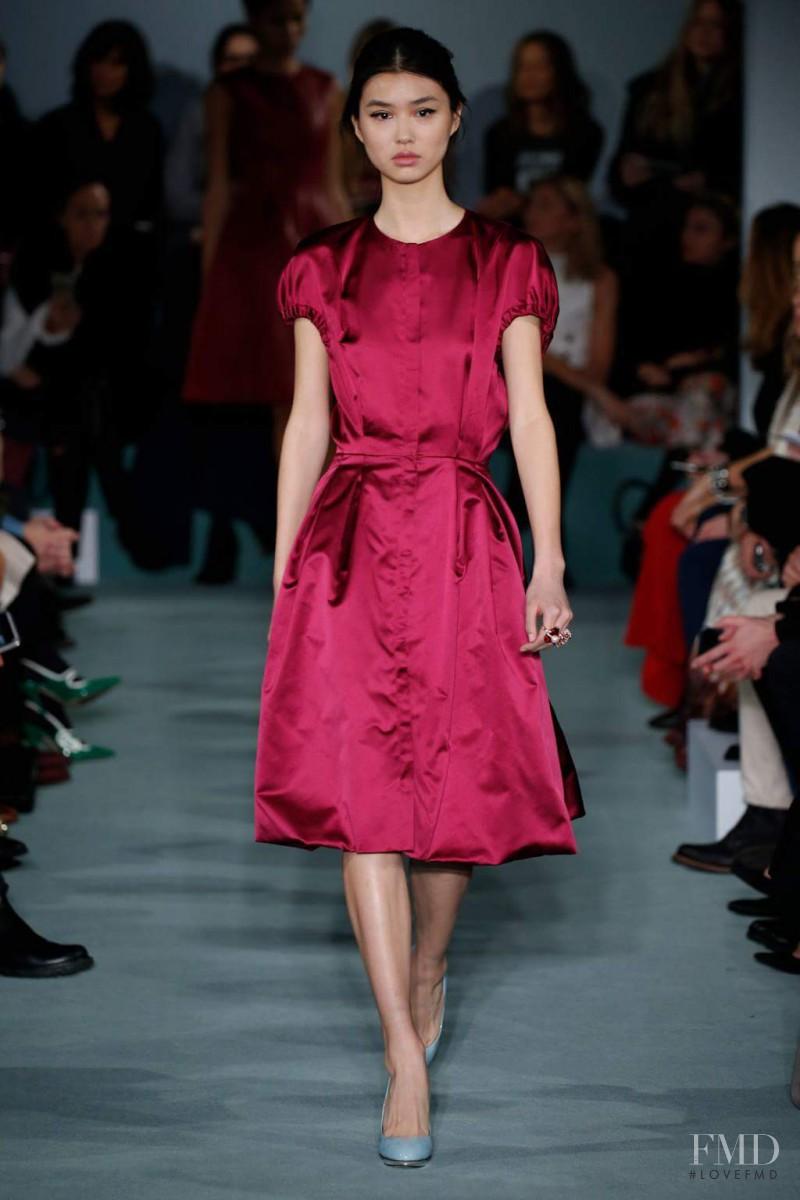 Oscar de la Renta fashion show for Autumn/Winter 2016