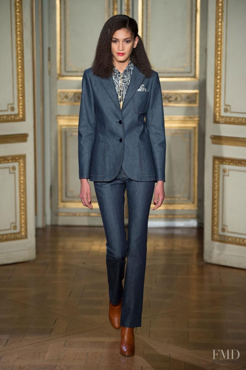 Hadassa Lima featured in  the Vanessa Seward fashion show for Autumn/Winter 2015