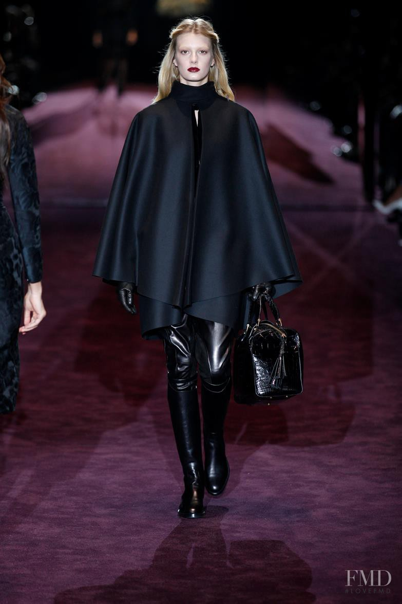 Sigrid Agren featured in  the Gucci fashion show for Autumn/Winter 2012