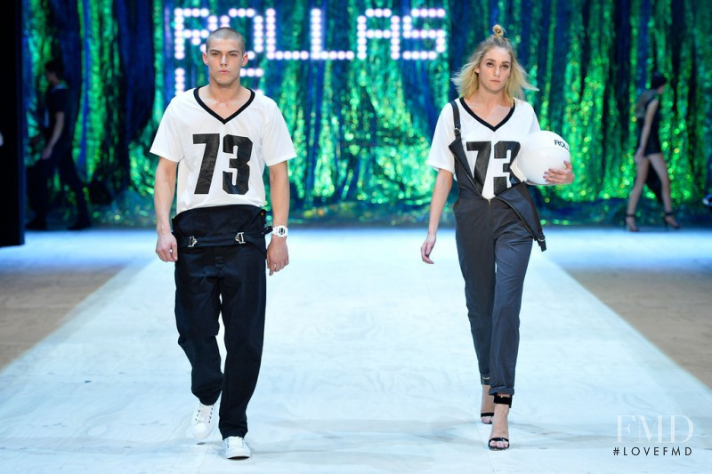 Lauren Feenstra featured in  the General Pants fashion show for Autumn/Winter 2014