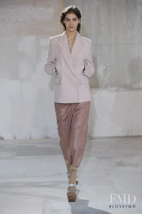 Samantha Gradoville featured in  the Acne Studios fashion show for Autumn/Winter 2011