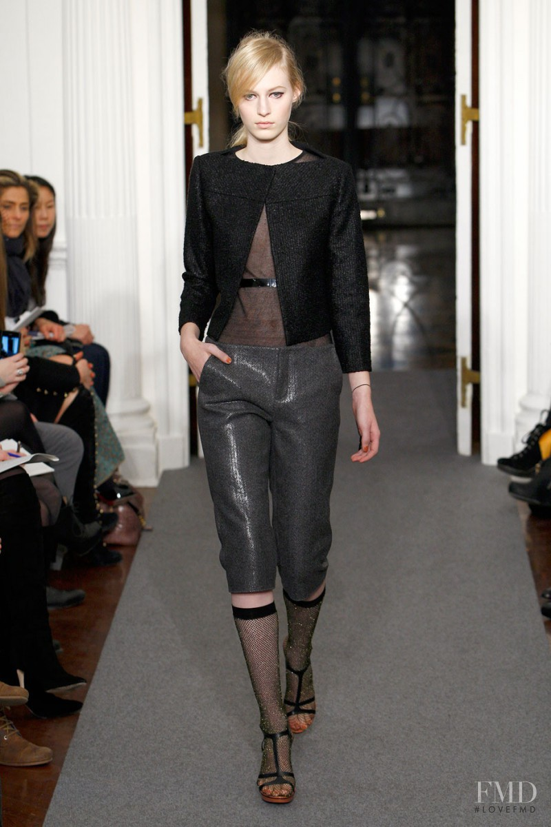 Julia Nobis featured in  the Ports 1961 fashion show for Autumn/Winter 2011
