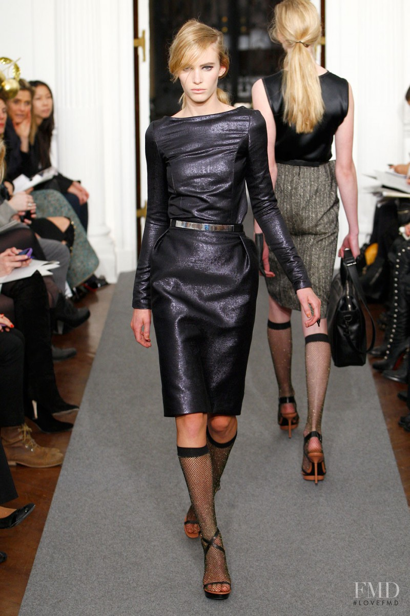Emily Baker featured in  the Ports 1961 fashion show for Autumn/Winter 2011