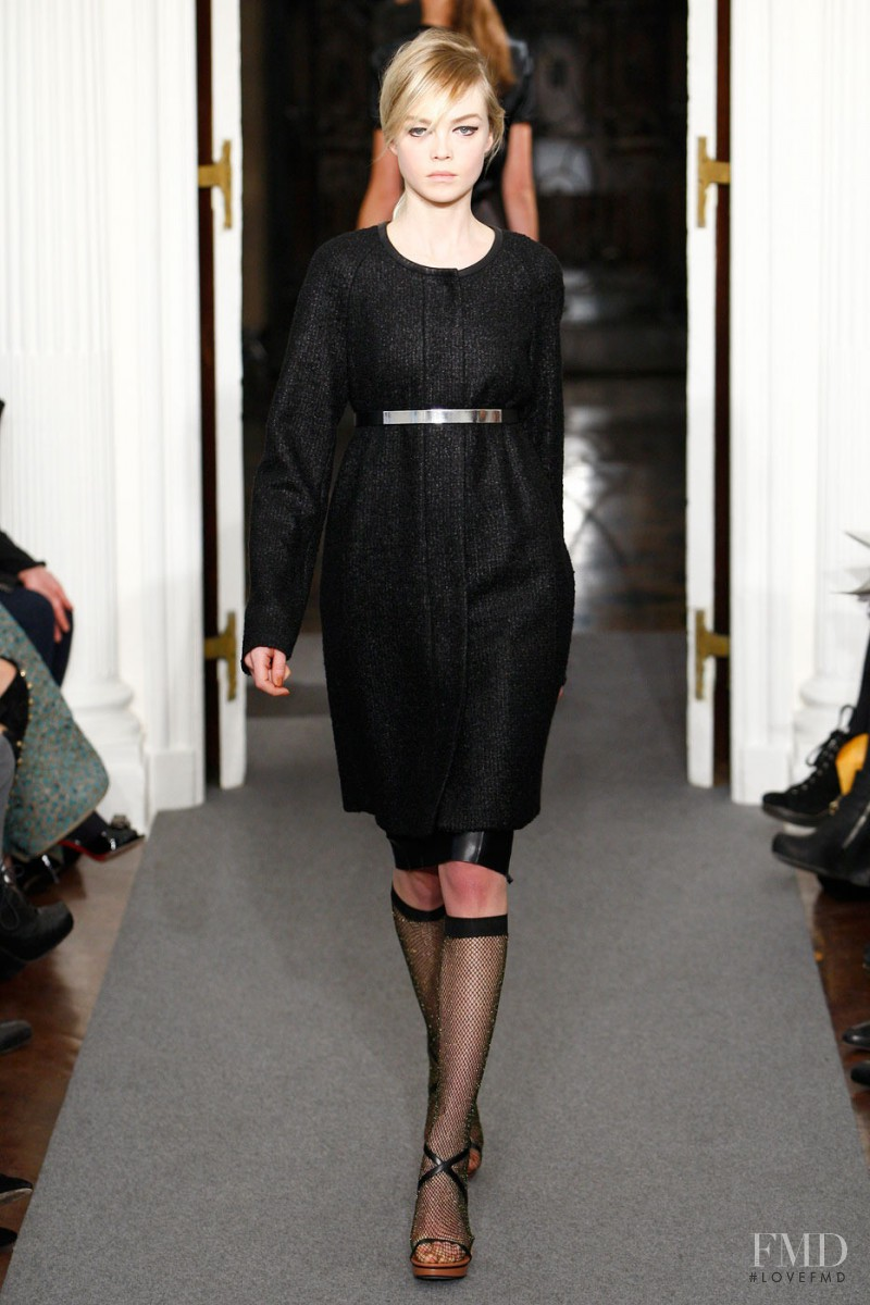 Siri Tollerod featured in  the Ports 1961 fashion show for Autumn/Winter 2011