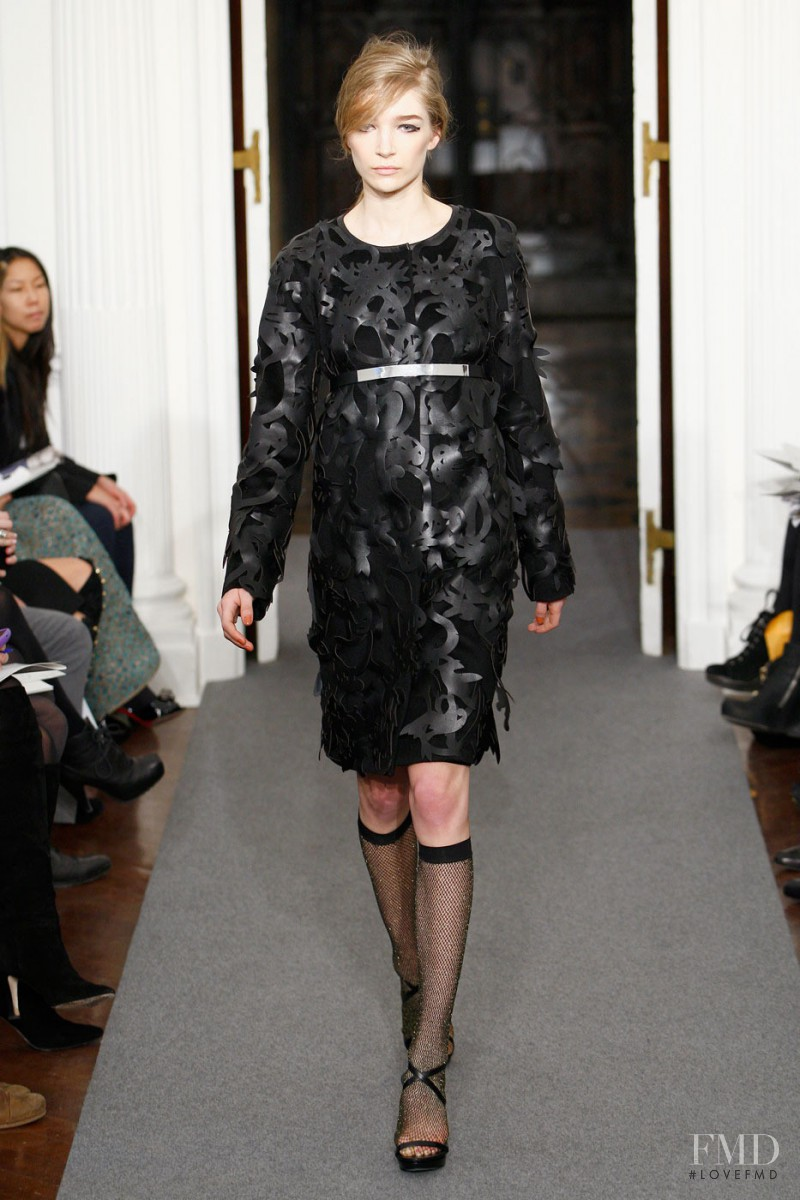 Janice Alida featured in  the Ports 1961 fashion show for Autumn/Winter 2011