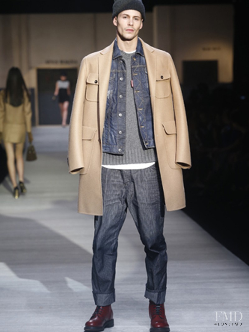 DSquared2 fashion show for Autumn/Winter 2014