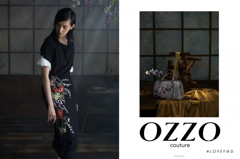 Cici Xiang Yejing featured in  the OZZO Couture fashion show for Spring/Summer 2015