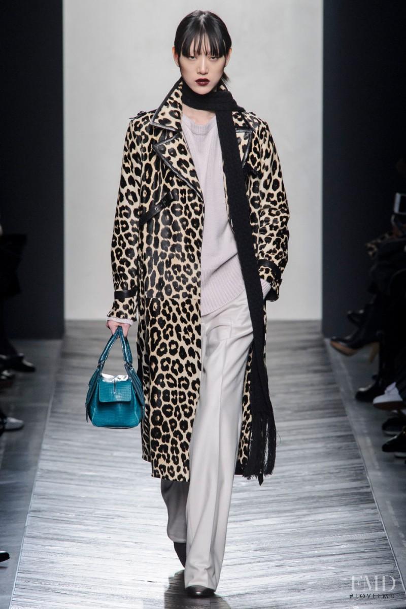 So Ra Choi featured in  the Bottega Veneta fashion show for Autumn/Winter 2016