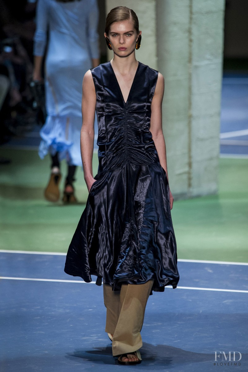 Sandra Schmidt featured in  the Celine fashion show for Autumn/Winter 2016