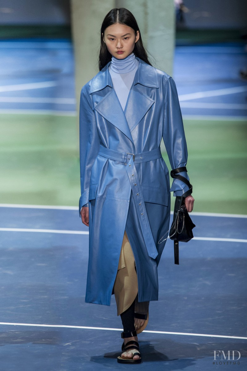 Cong He featured in  the Celine fashion show for Autumn/Winter 2016