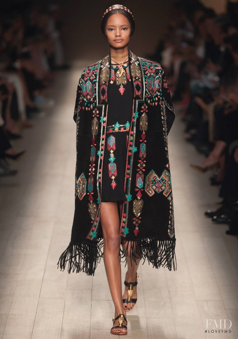 Malaika Firth featured in  the Valentino fashion show for Spring/Summer 2014