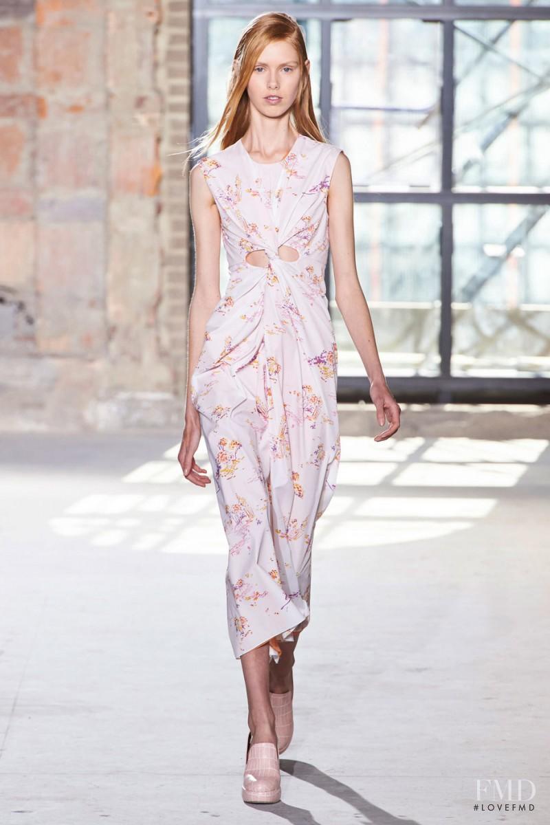 Lululeika Ravn Liep featured in  the Sies Marjan fashion show for Autumn/Winter 2016