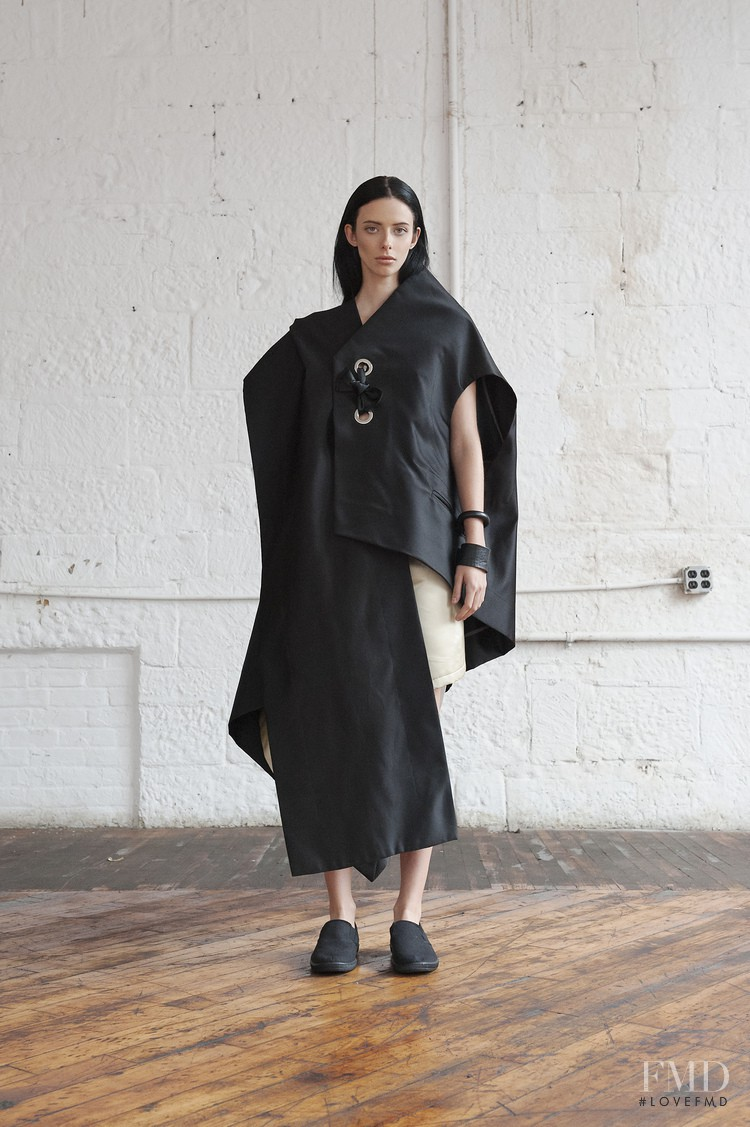 Clara Knorick featured in  the Homic lookbook for Spring/Summer 2015