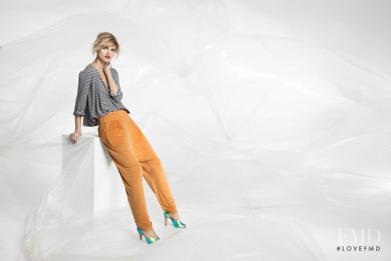 Louise Mikkelsen featured in  the Bitte Kai Rand advertisement for Spring/Summer 2015