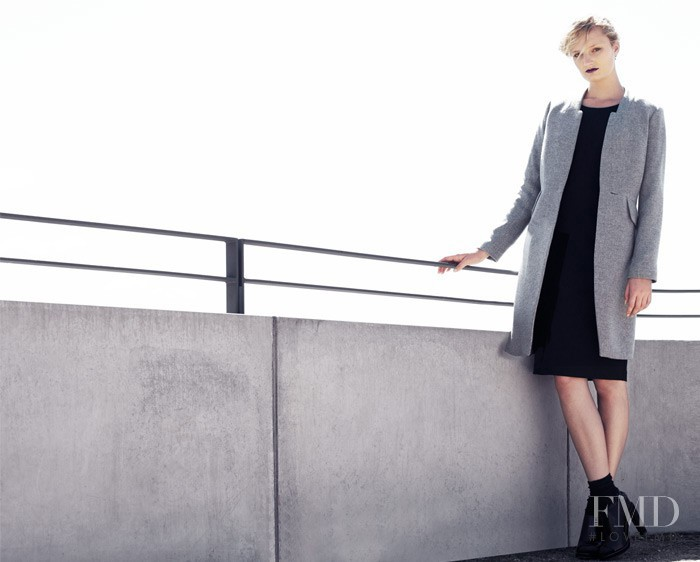 Talisa Quirk featured in  the Veronika Maine advertisement for Autumn/Winter 2014