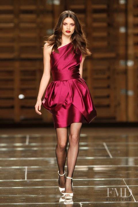 Sara Sampaio featured in  the Diogo Miranda fashion show for Autumn/Winter 2012