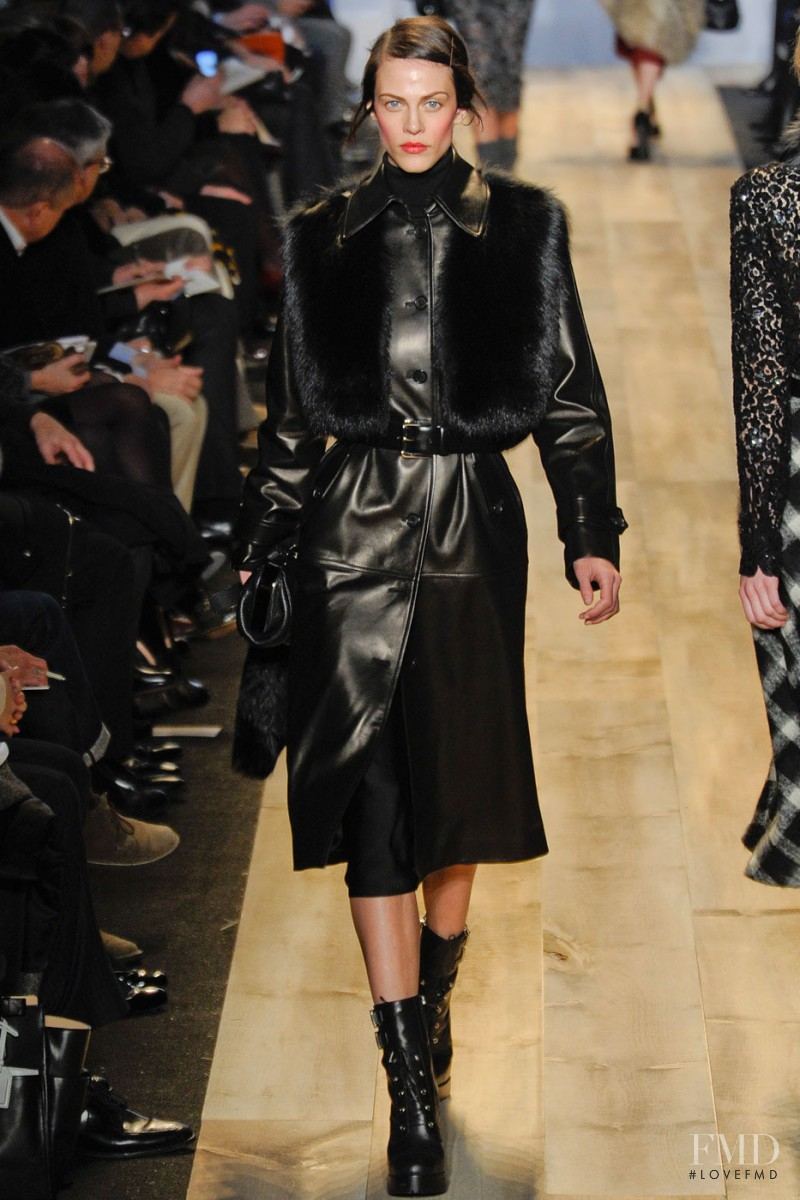 Aymeline Valade featured in  the Michael Kors fashion show for Autumn/Winter 2012
