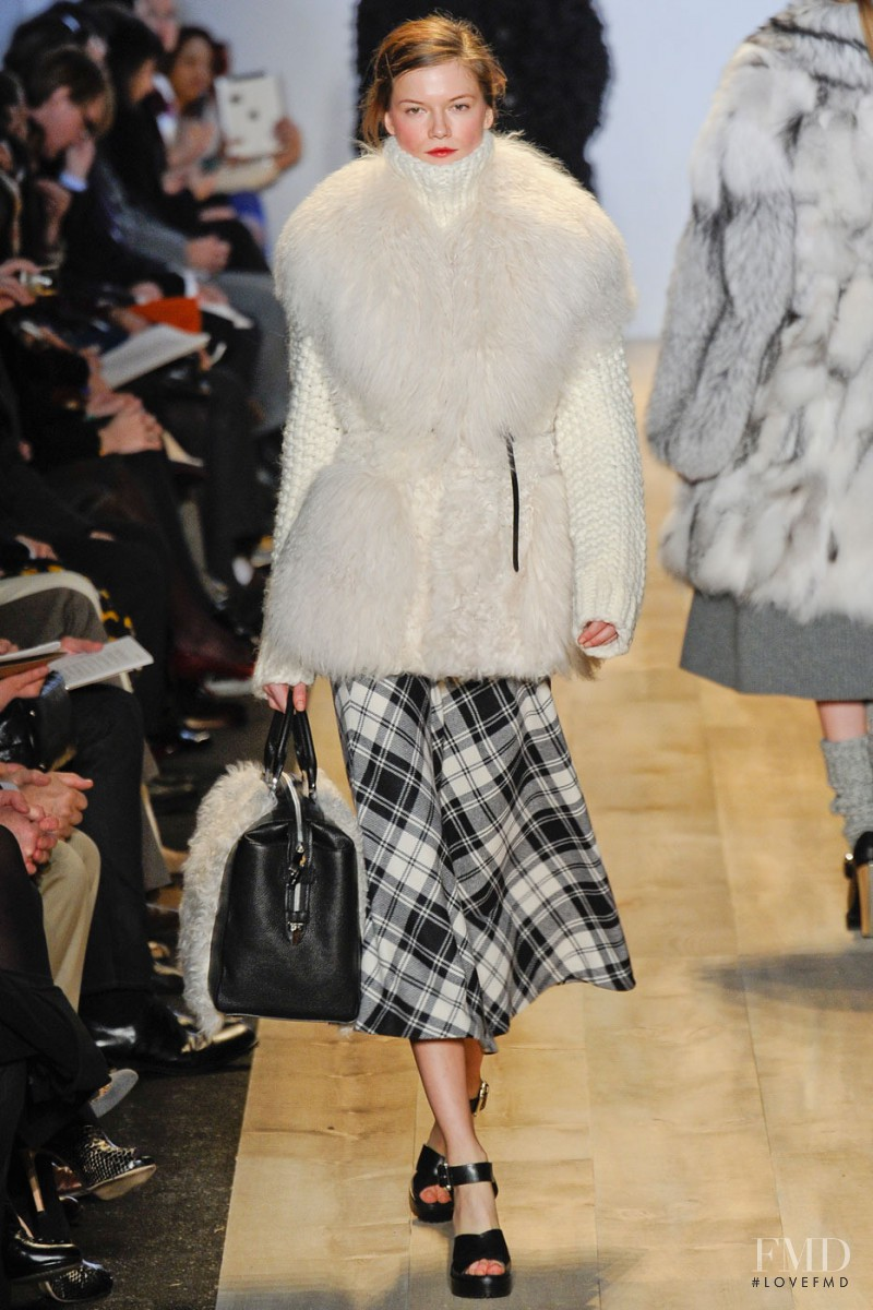 Kasia Struss featured in  the Michael Kors fashion show for Autumn/Winter 2012