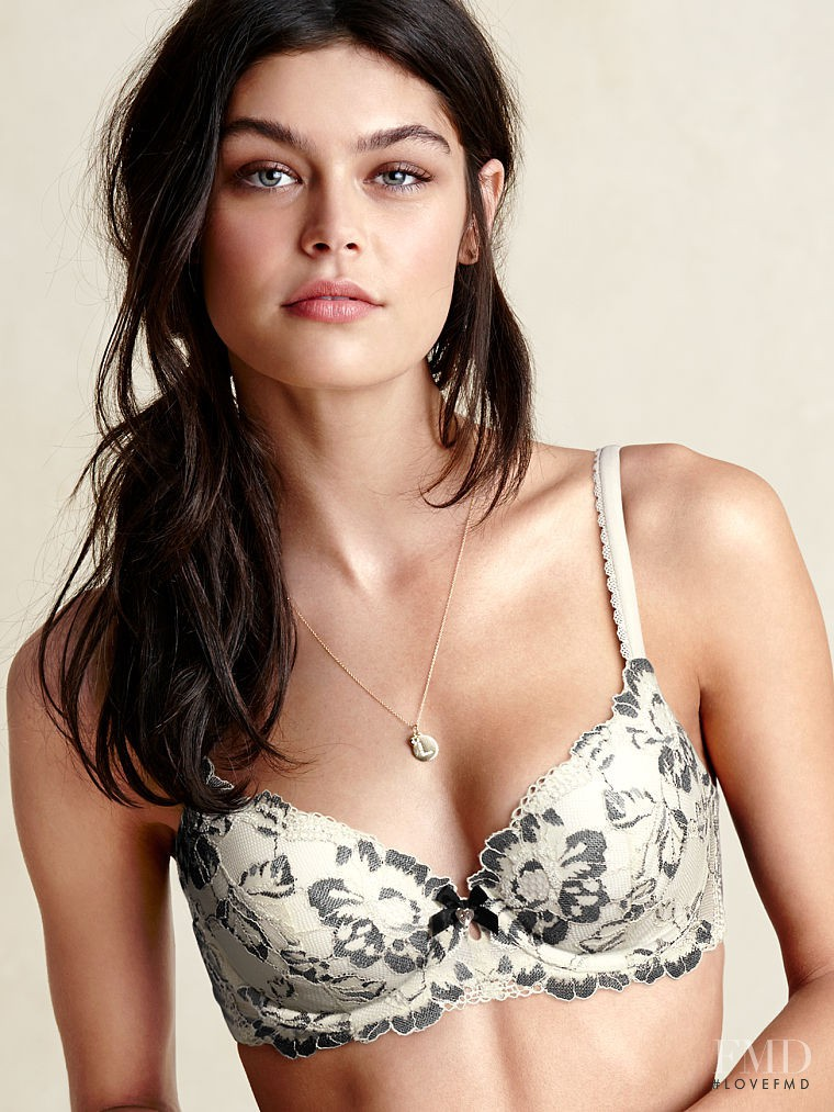 Lauren Layne featured in  the Victoria\'s Secret Lingerie catalogue for Autumn/Winter 2014