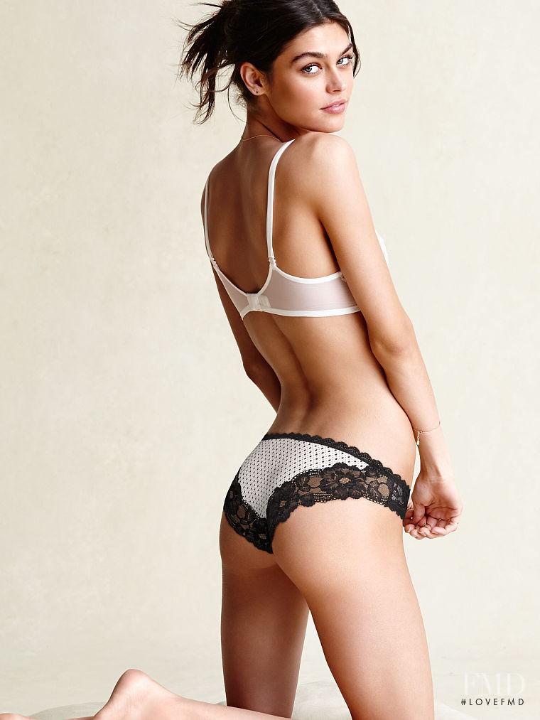 Lauren Layne featured in  the Victoria\'s Secret Lingerie catalogue for Autumn/Winter 2014