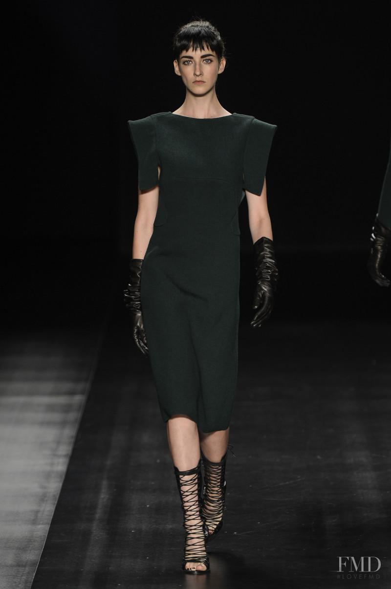 Cristina Herrmann featured in  the Tufi Duek fashion show for Autumn/Winter 2013