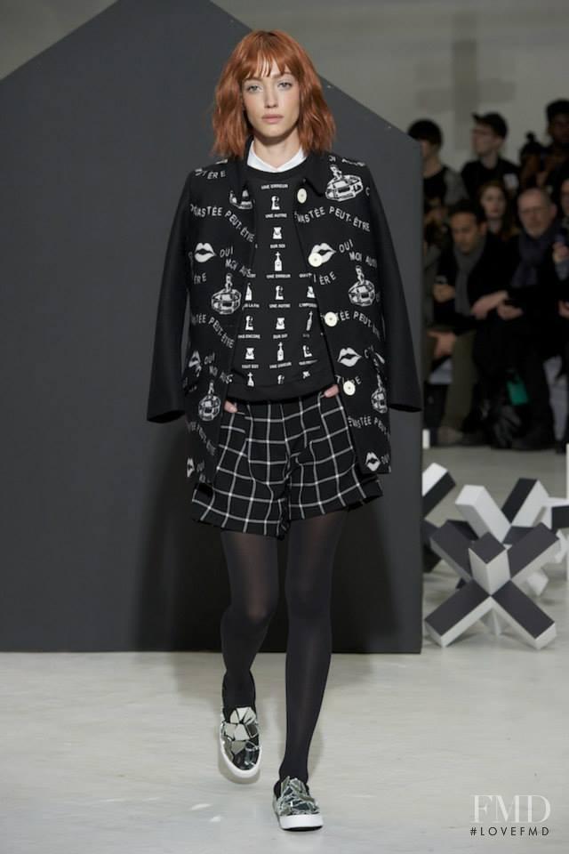 Dana Luz Almada featured in  the Devastee fashion show for Autumn/Winter 2014