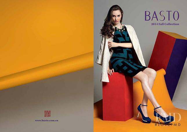 Chanel Caldwell featured in  the Basto catalogue for Autumn/Winter 2014