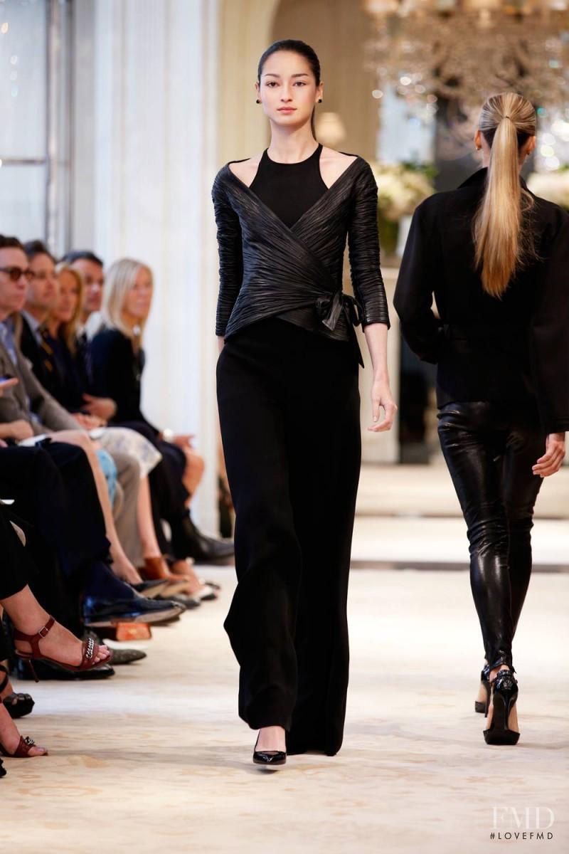 Photo Feat Bruna Tenorio Ralph Lauren Collection Resort 2014 Ready To Wear New York Fashion Show Brands The Fmd