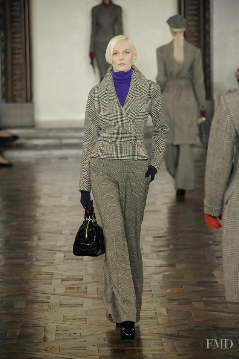 Katia Kokoreva featured in  the Ralph Lauren Collection fashion show for Autumn/Winter 2012
