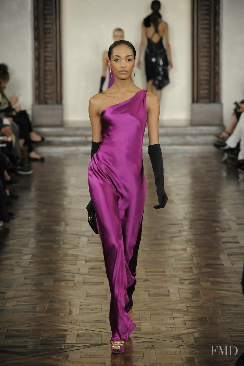 Jourdan Dunn featured in  the Ralph Lauren Collection fashion show for Autumn/Winter 2012