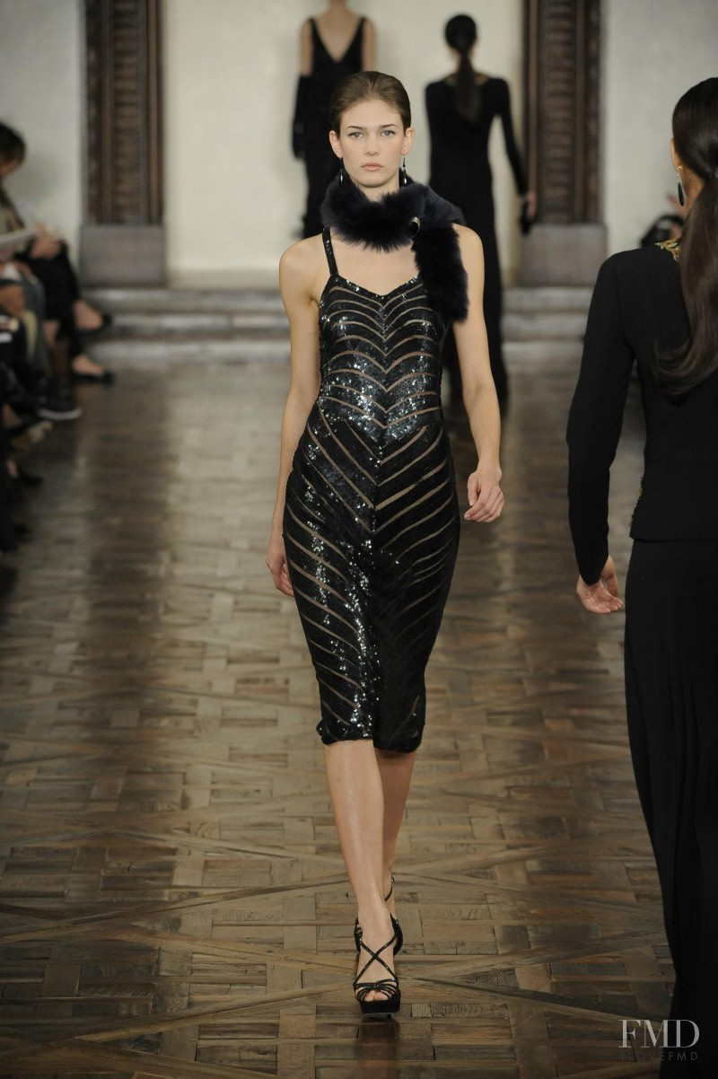 Kendra Spears featured in  the Ralph Lauren Collection fashion show for Autumn/Winter 2012