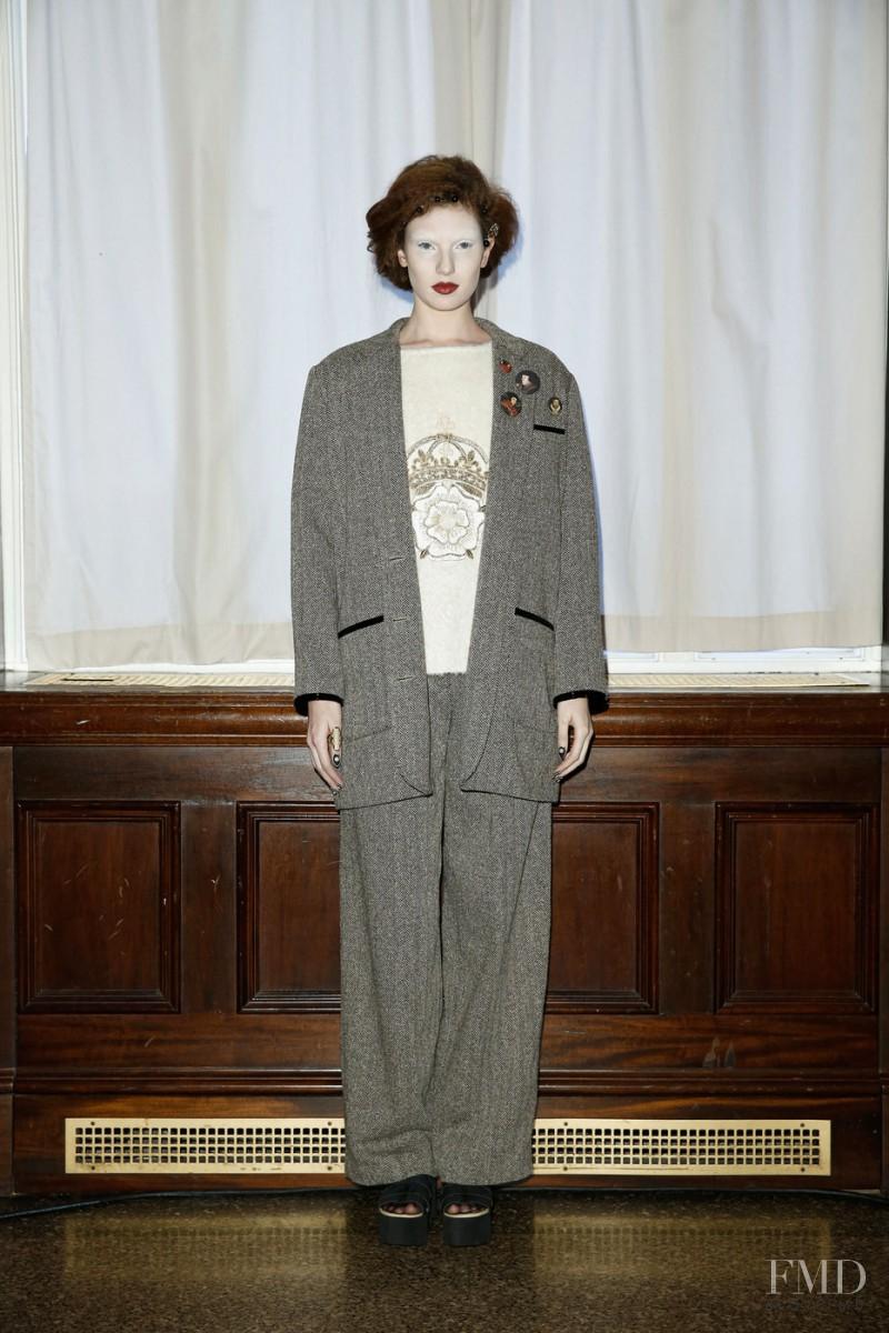 Saunder fashion show for Autumn/Winter 2015