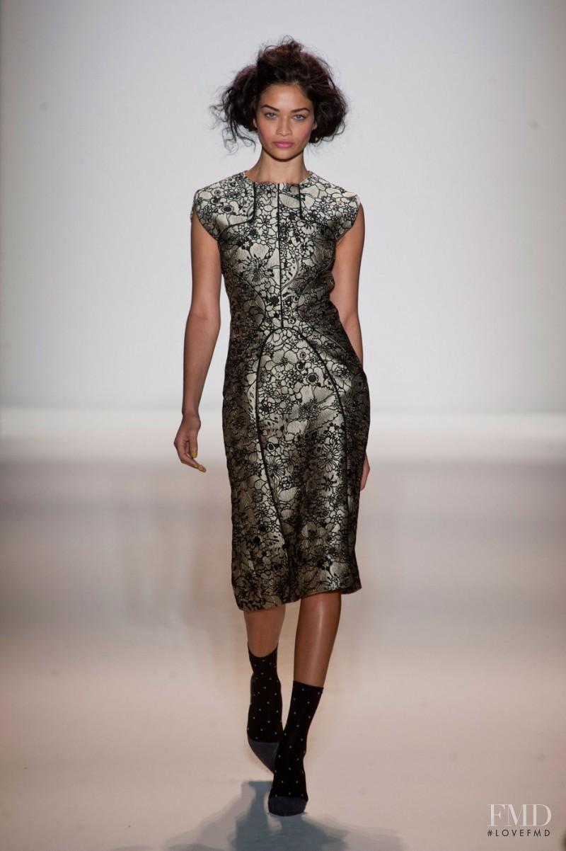 Shanina Shaik featured in  the Lela Rose fashion show for Autumn/Winter 2013