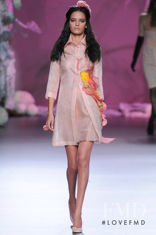 Wanessa Milhomem featured in  the Francis Montesinos fashion show for Autumn/Winter 2012
