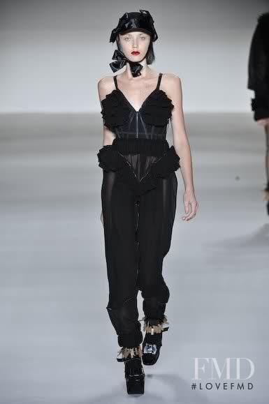 Andressa Fontana featured in  the Giulia Borges fashion show for Autumn/Winter 2010
