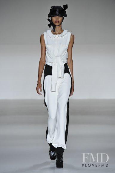 Lais Ribeiro featured in  the Giulia Borges fashion show for Autumn/Winter 2010