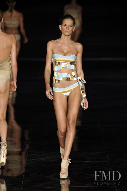 Izabel Goulart featured in  the Lenny fashion show for Spring/Summer 2011