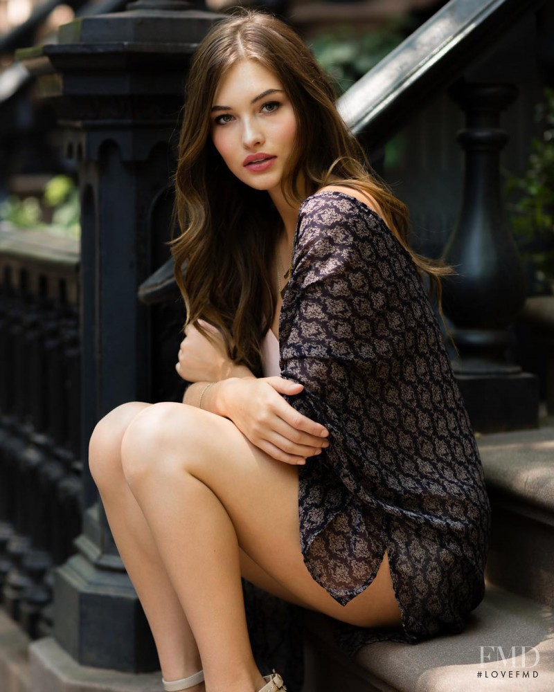 Grace Elizabeth featured in  the ThisGirl lookbook for Autumn/Winter 2015