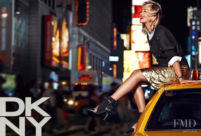 DKNY advertisement for Resort 2014