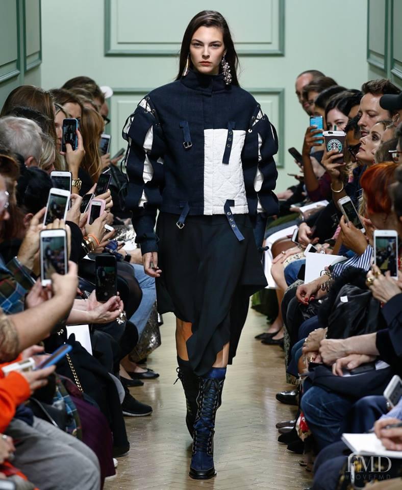 Vittoria Ceretti featured in  the J.W. Anderson fashion show for Spring/Summer 2017