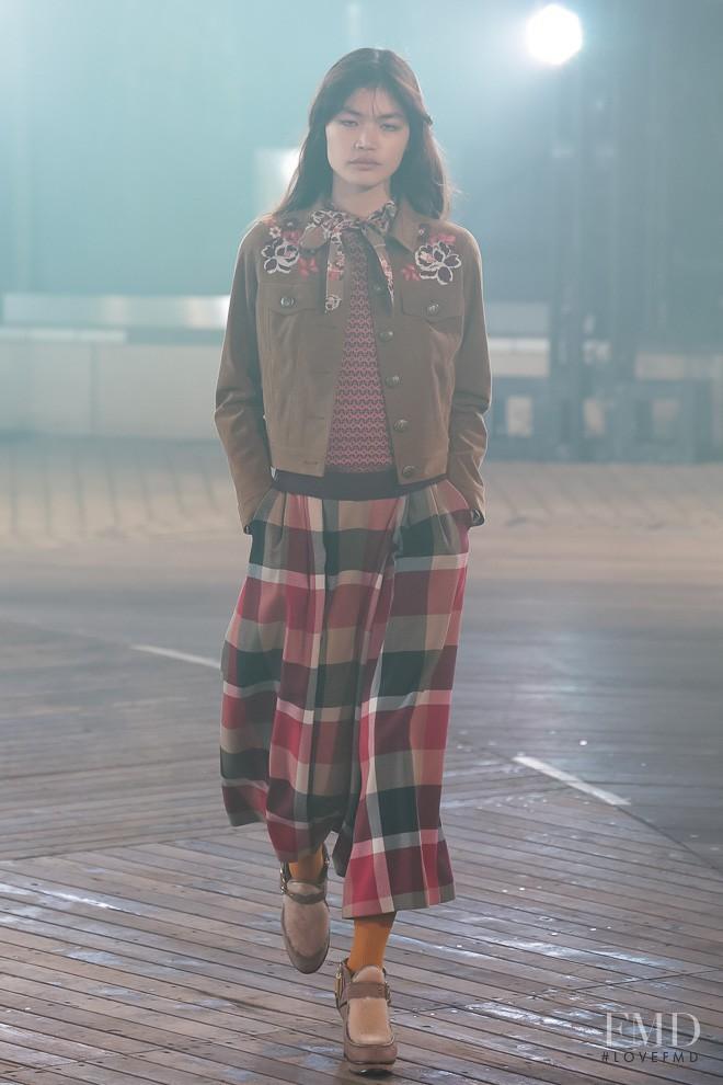 Rina Fukushi featured in  the Crestbridge fashion show for Autumn/Winter 2016