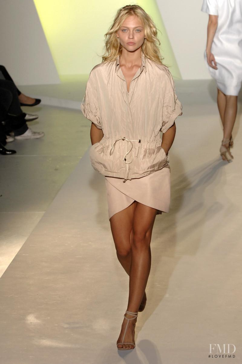 Sasha Pivovarova featured in  the Preen by Thornton Bregazzi fashion show for Spring/Summer 2008